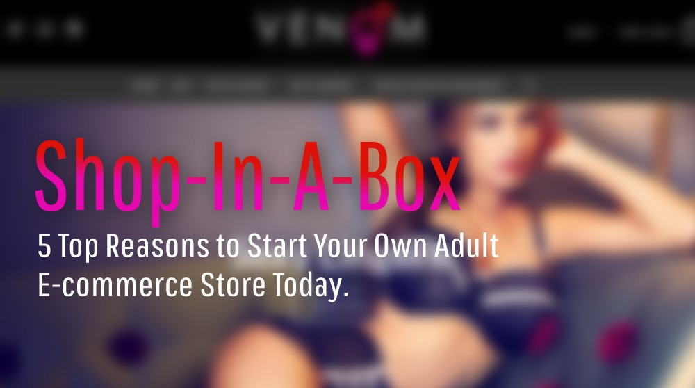 5 Top Reasons to Start Your Own Adult E-commerce Store Today