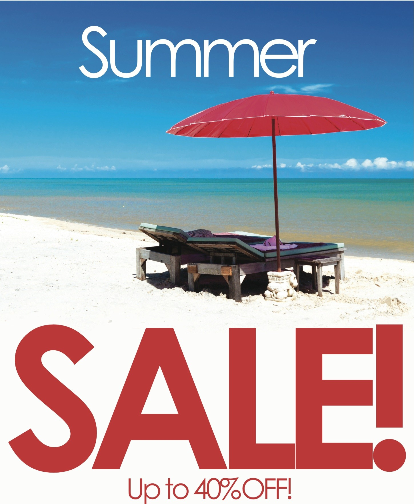 40% Off In The Summer Sale