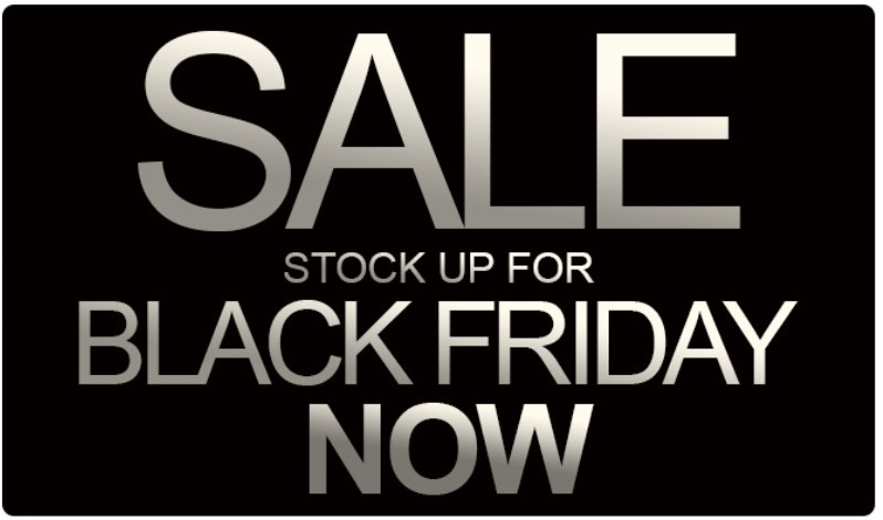 Savings of up to 45% for retailers in our Black Friday Sale