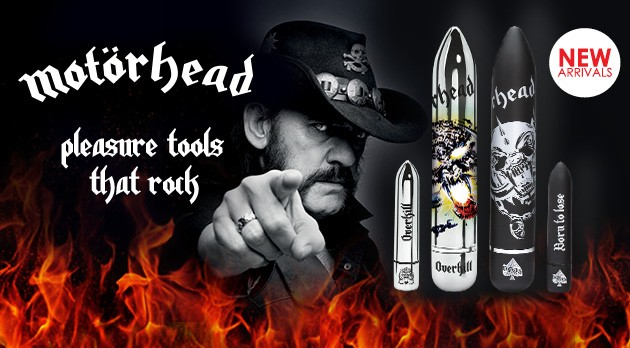 Rock out to the powerful vibes of Motörhead