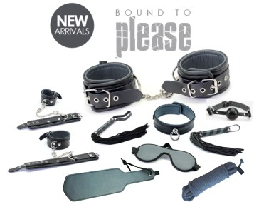 NEW FROM BOUND TO PLEASE