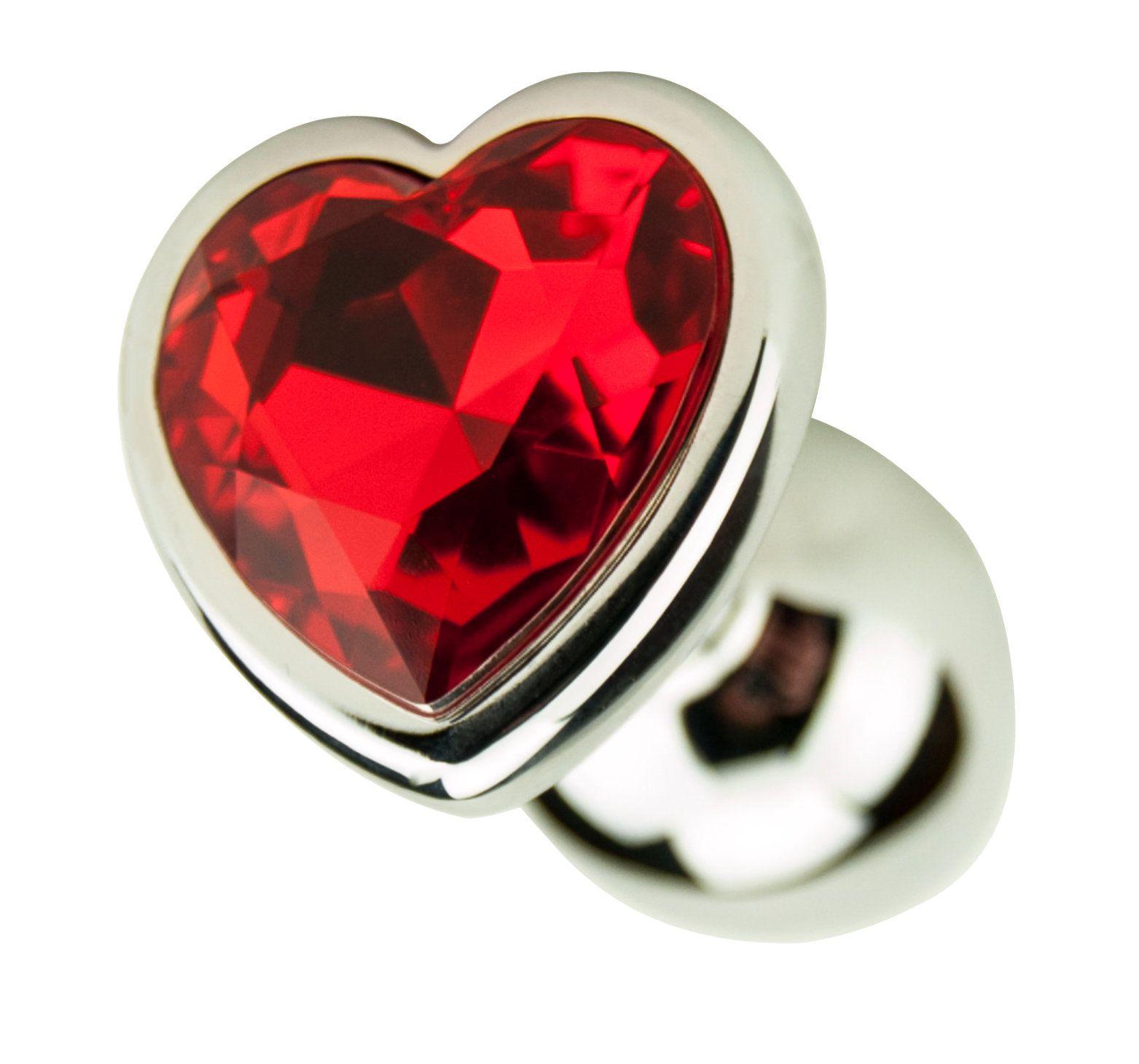 Precious Metals Heart Plug