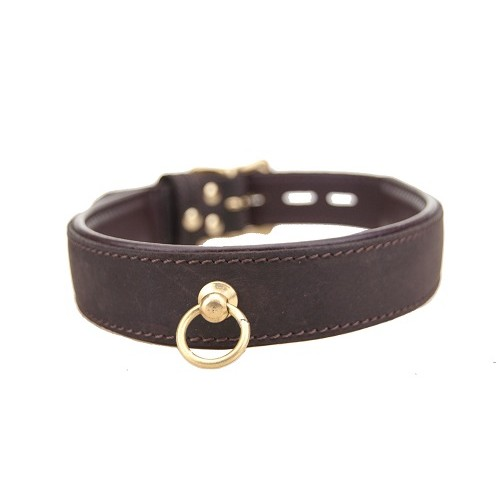 BOUND Nubuck Leather Choker